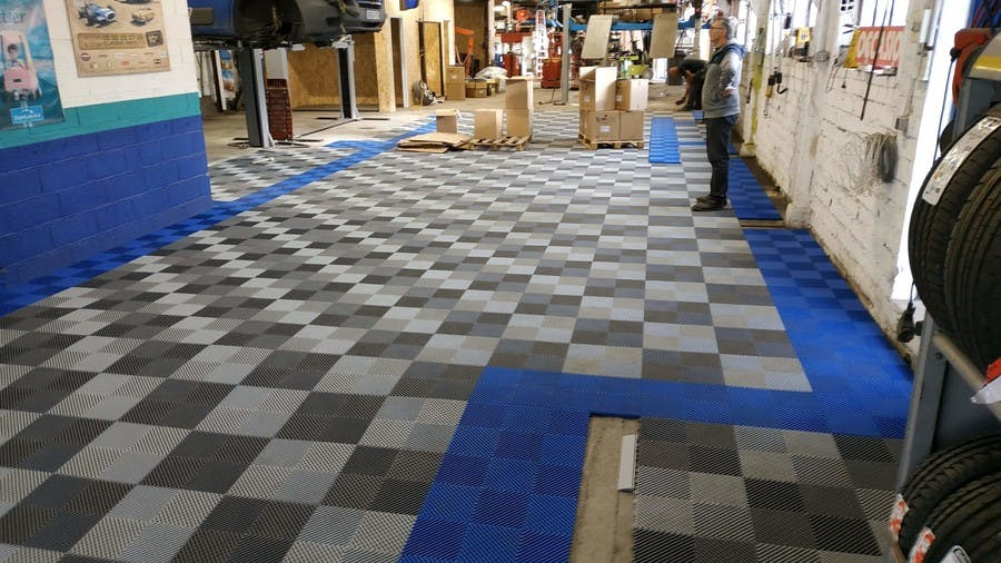 Revetement de sol garage Izifloor