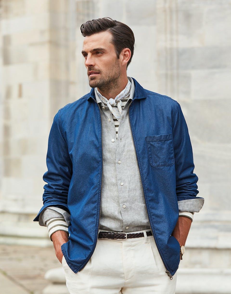Gewinnen Sie den Overshirt-Look! | Jacques Britt