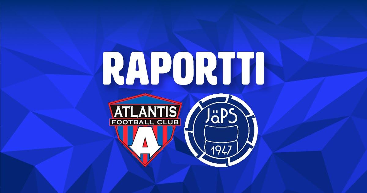 Atlantis FC 1-3 JäPS