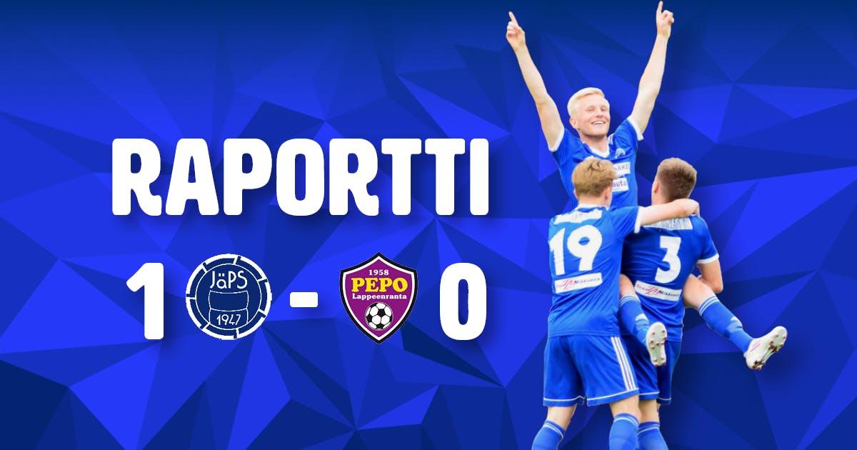 Raportti: JäPS 1-0 PEPO