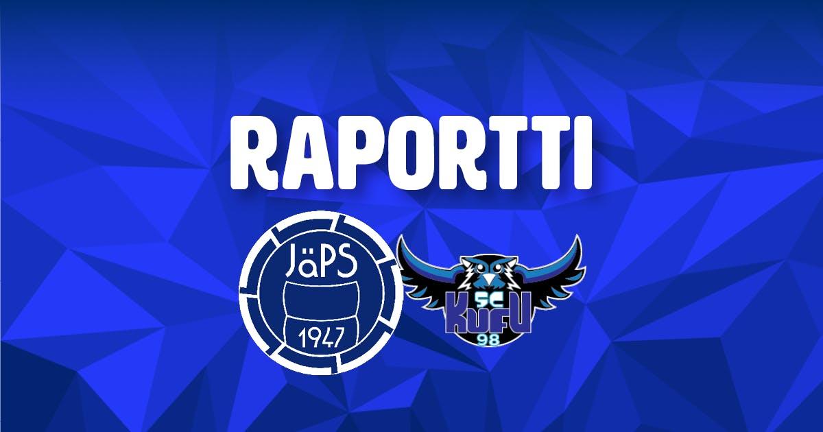 Raportti: JäPS 4-0 KuFu98