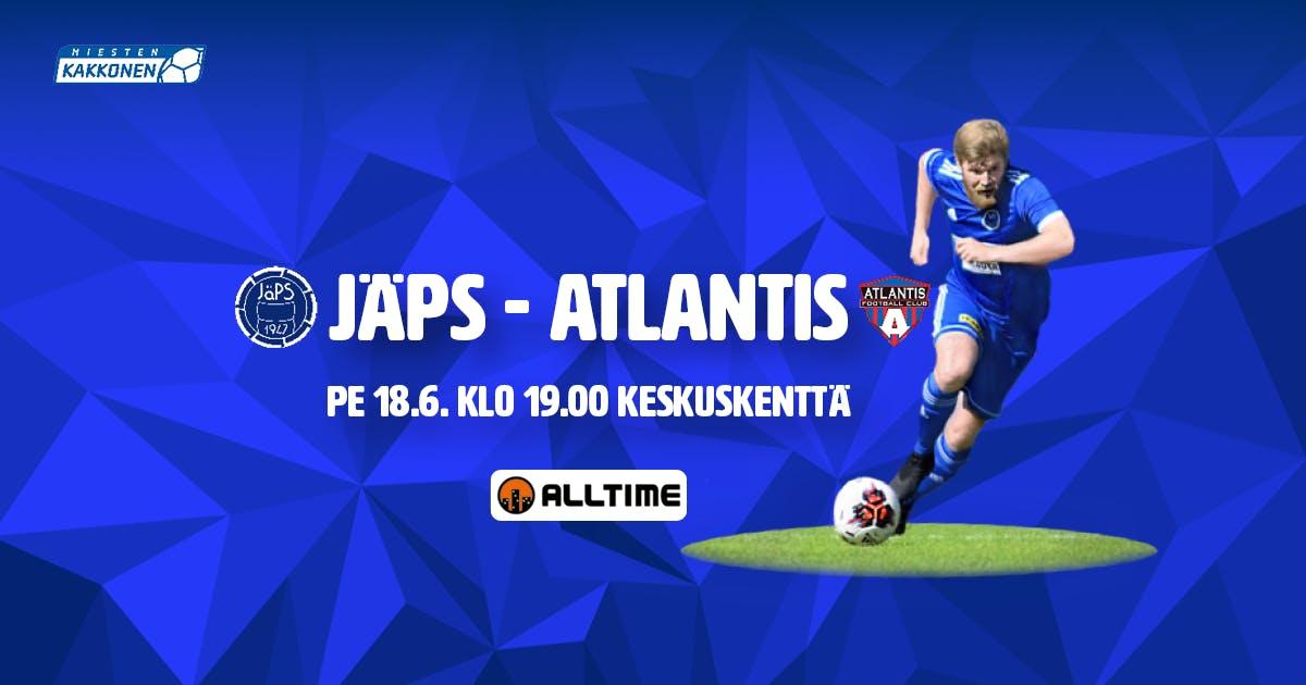 Ennakko: JäPS – Atlantis FC