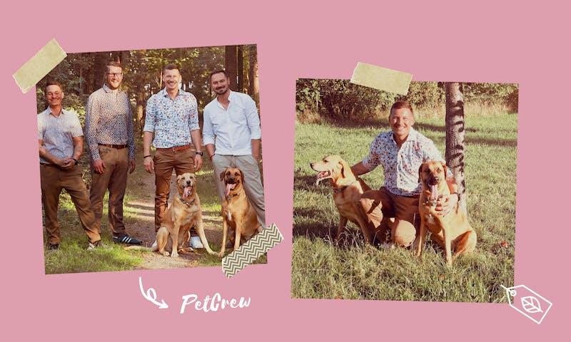 Das Team von PetCrew, einem nachhaltigen Hundeshop