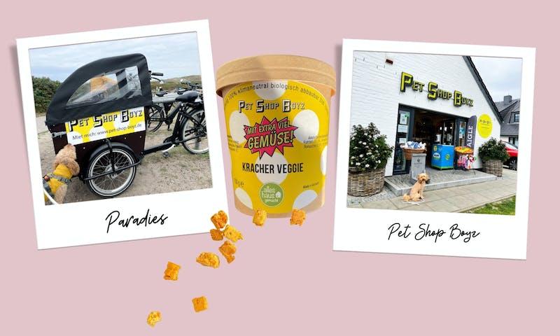 Zu Besuch bei Pet Shop Boyz auf Sylt, dem Tante-Emma-Laden für Hundefans