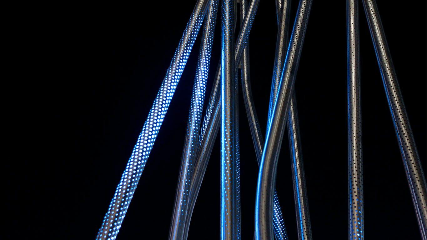 Crisscross Signal Spire