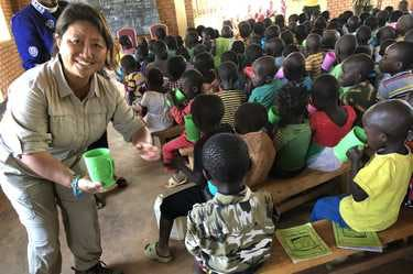 CEO Ling Chai Maginn funds nutrition and schooling programs in Rwanda