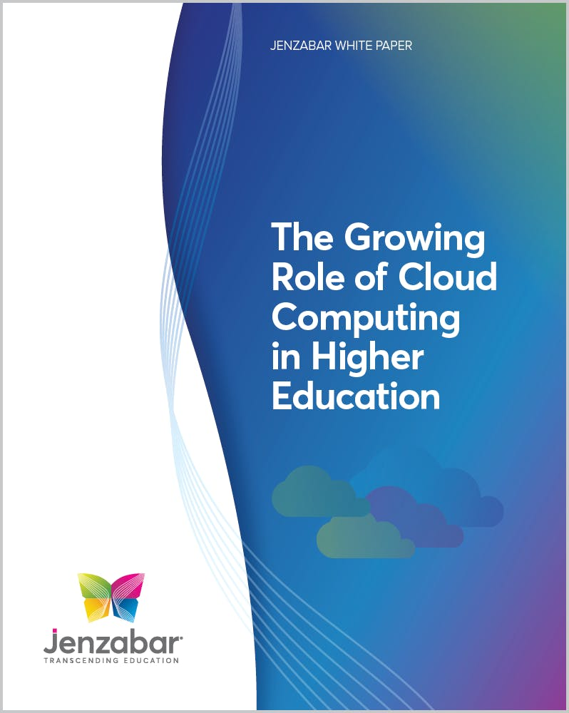 White Paper: The Growing Role of Cloud Computing in Higher Education