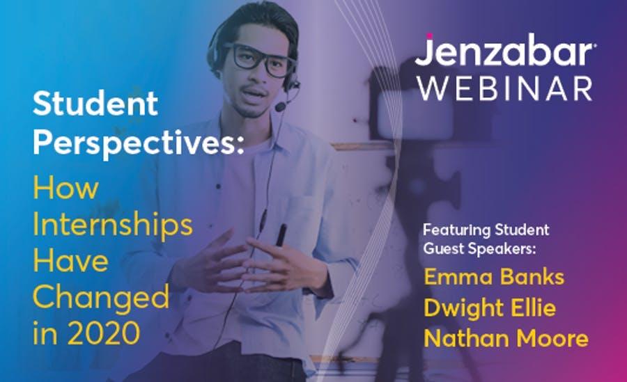 Webinar: How Internships Have Changes in 2020