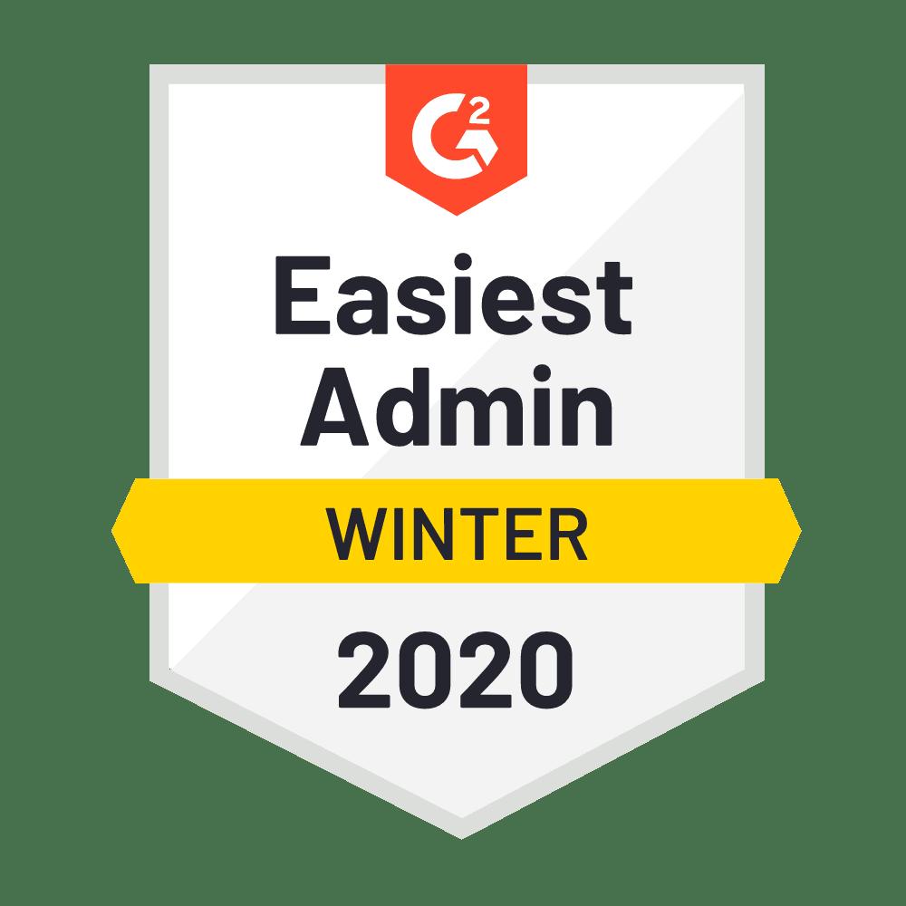 Easiest Admin Winter 2019