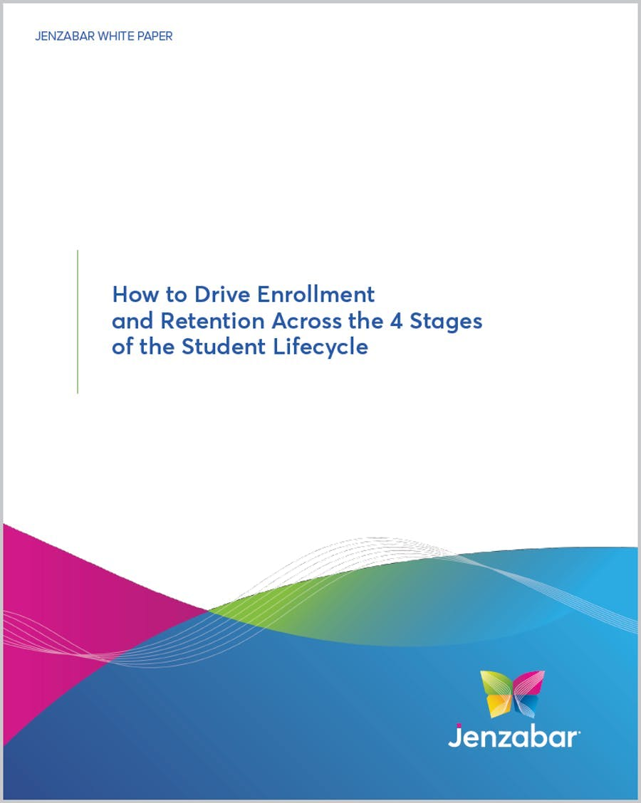 How to Drive Enrollment and Retention Across the 4 Stages of the Student Lifecycle