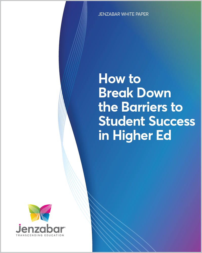 How to Break Down the Barriers to Student Success in Higher Education