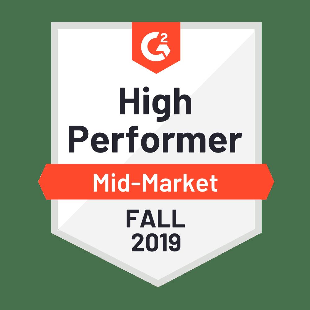 High Performer Mid-Market 2019