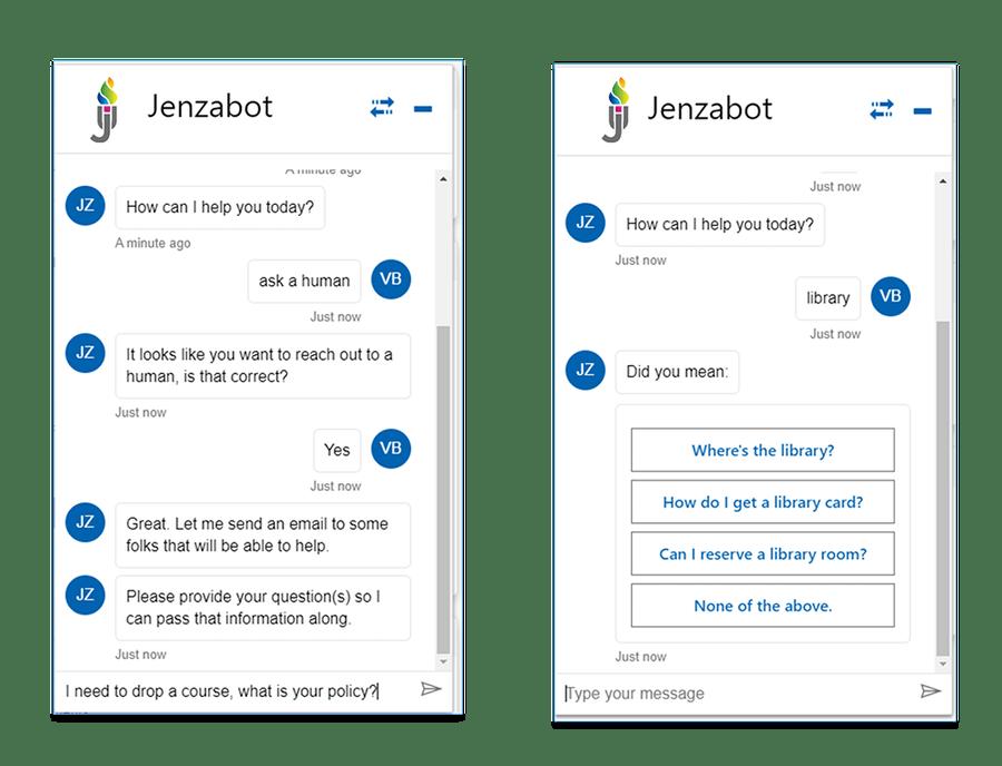 Jenzabar Chatbot