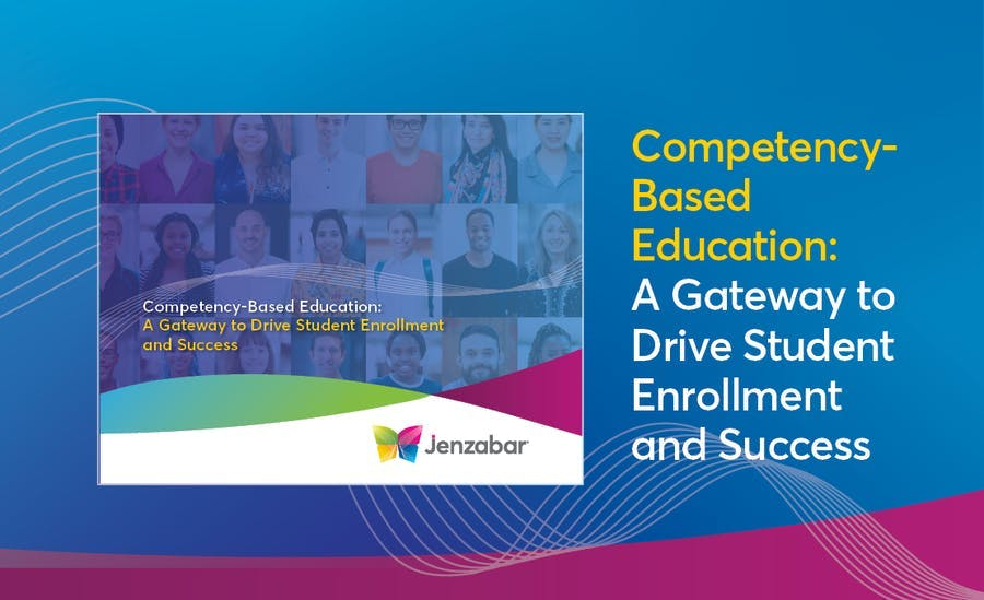 Ebook: Competency-Based Education: A Gateway to Drive Student Enrollment and Success