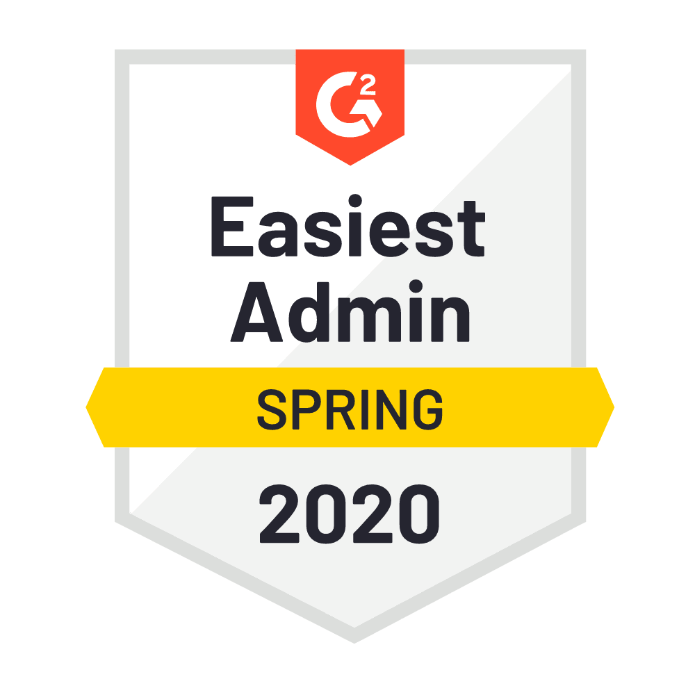 Easiest Admin Spring 2020