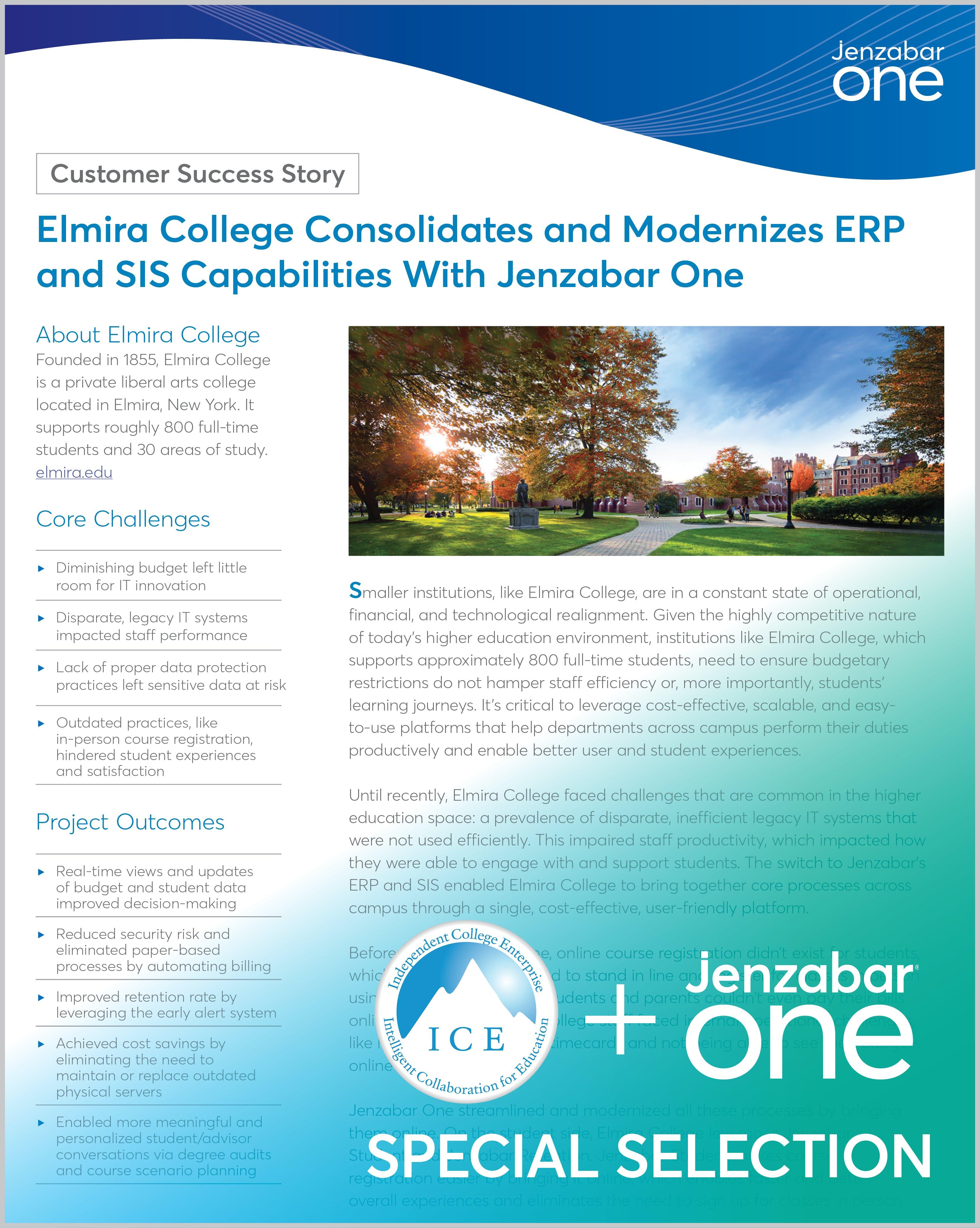 Case Study: Elmira College