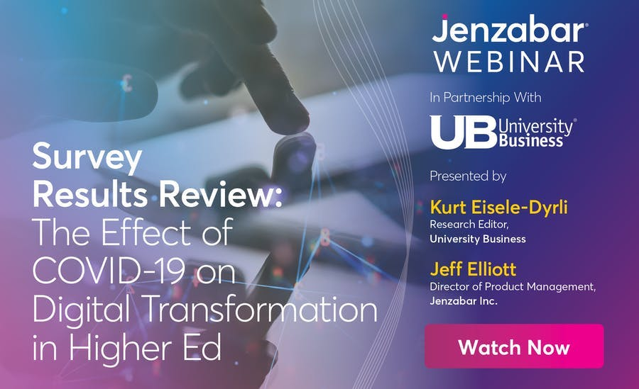 The Effect of COVID-19 on Digital Transformation in Higher Ed