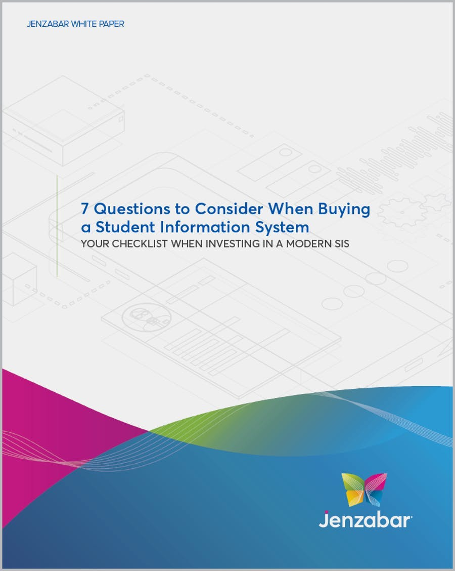 White Paper: 7 Questions to Consider When Buying a Student Information System