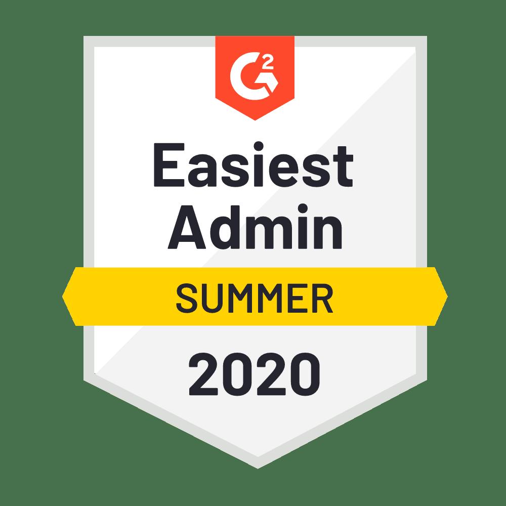 Easiest Admin Summer 2020