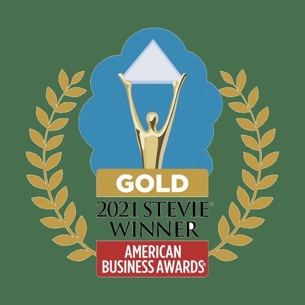 2021 Gold Stevie Award for Best Post-Secondary Enterprise Solution