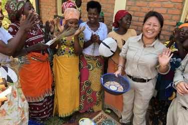 CEO Ling Chai Maginn funds women's bakery in Rwanda
