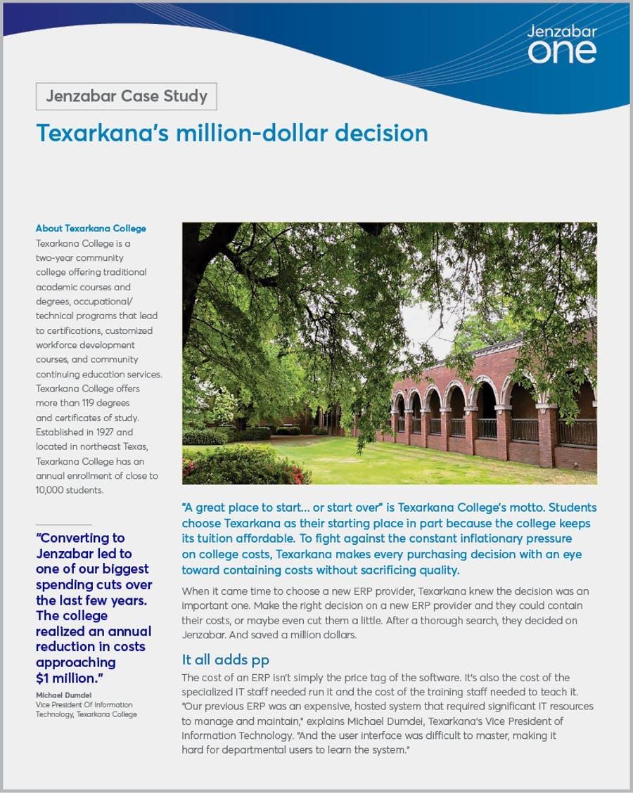 Texarkana's million-dollar decision