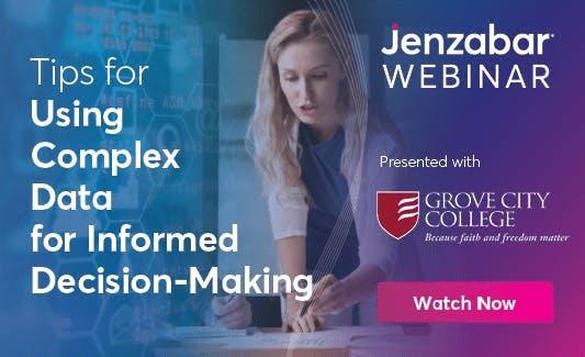 Webinar: Tips for Using Complex Data for Informed Decision-Making