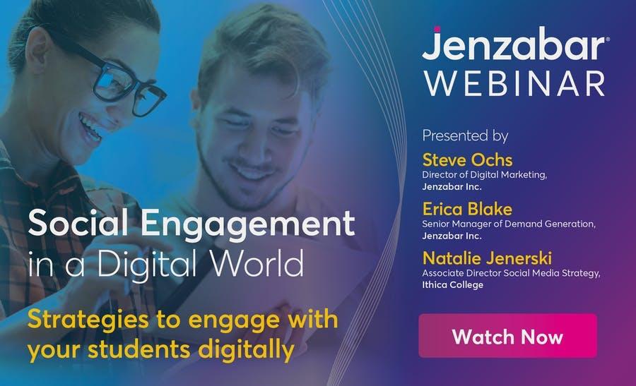 Webinar: Social Engagement in a Digital World