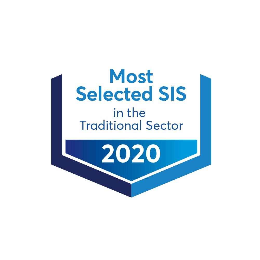 Most-Selected SIS in 2020