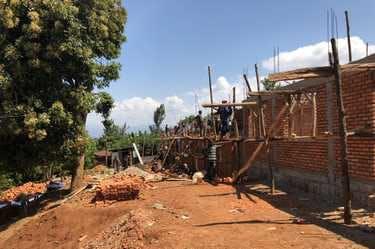 Kasese, Uganda building site sponsored by Jenzabar