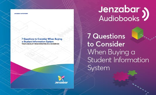 7 Questions to Consider When Buying a Student Information System - Jenzabar
