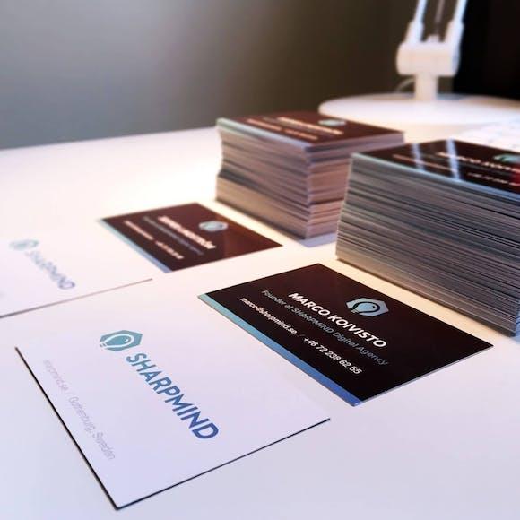Business cards / Sharpmind