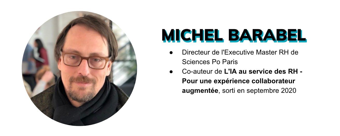 Michel Barabel est Directeur de l'Executive Master RH de Sciences Po Paris