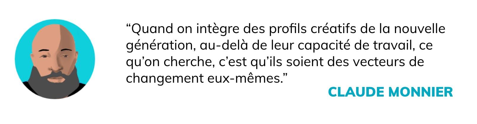 Citation Claude Monnier :