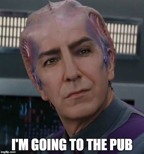 R.I.P. Alan Rickman - Galaxy Quest