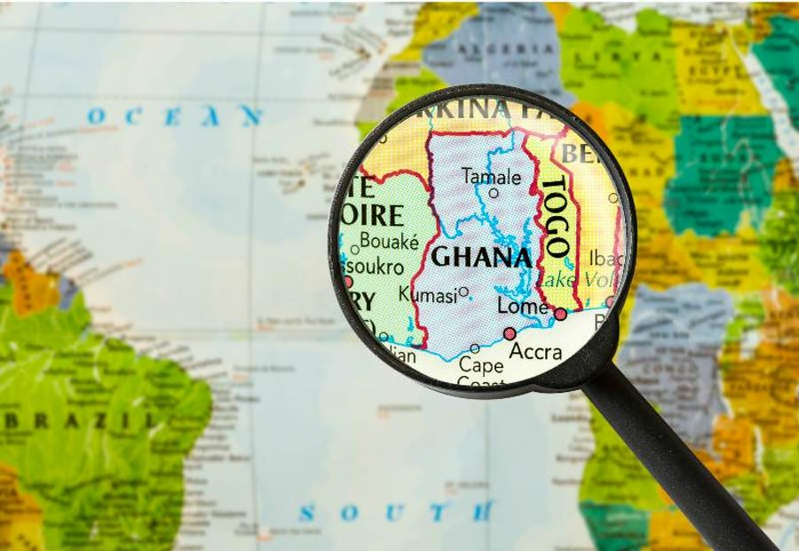 mineral resources in Ghana