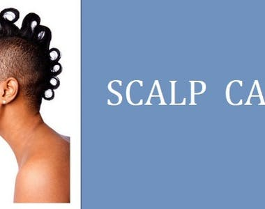 healthy scalp for natural hair growth