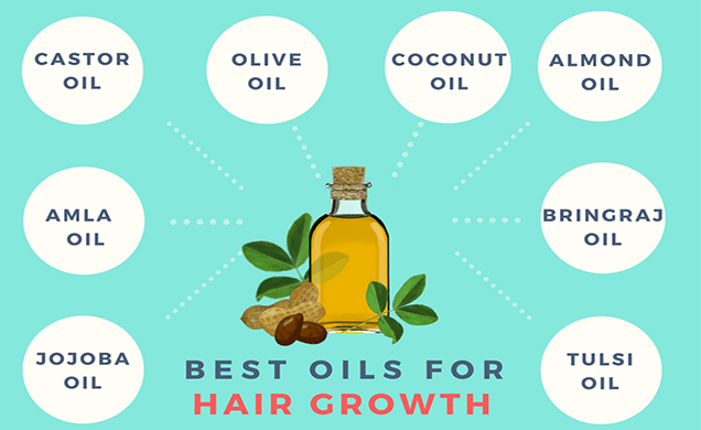 oil rich foods to help you to grow hair rapidly