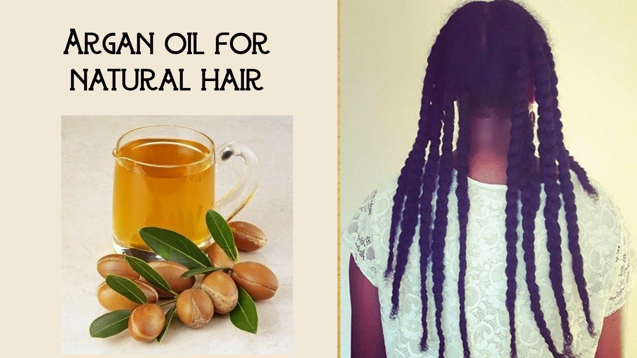 is argan oil good for black hair