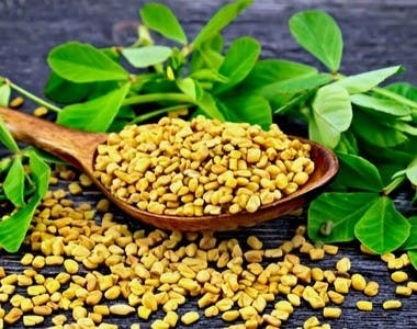 Fenugreek seeds for natural hair growth