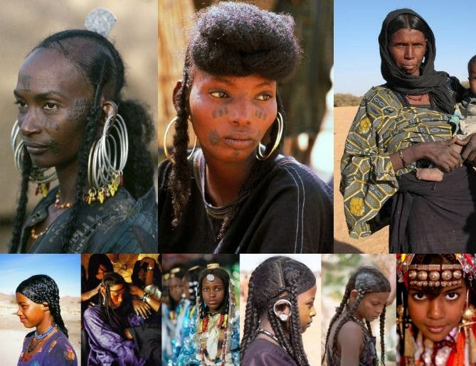 african tribes use chebe in chad