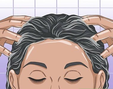 scalp massage For black Natural Hair Growth