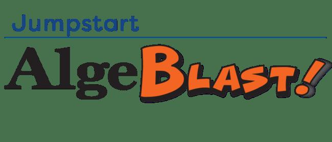 Algeblast!® - Algebra 1 End-of-Course Test Prep logo