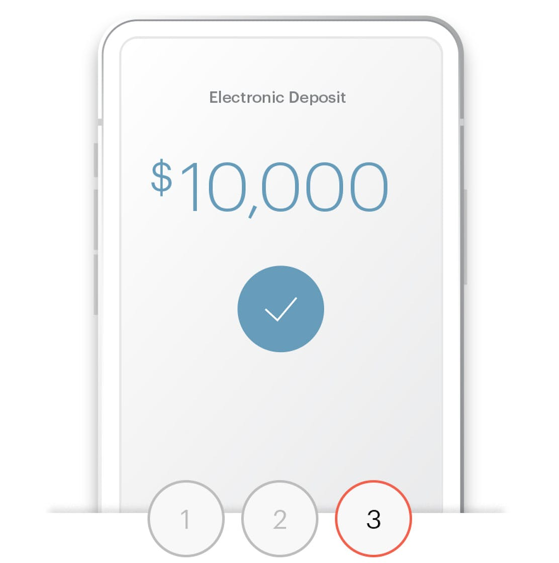 Your payout is deposited to youraccount within in 1–3 days