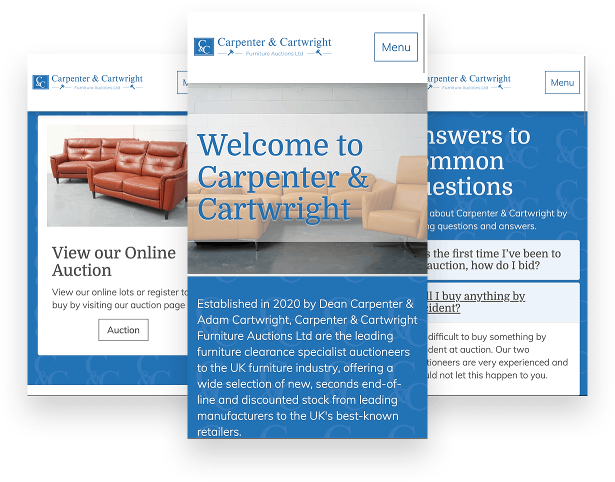 Different views of Carpenter & Cartwright site