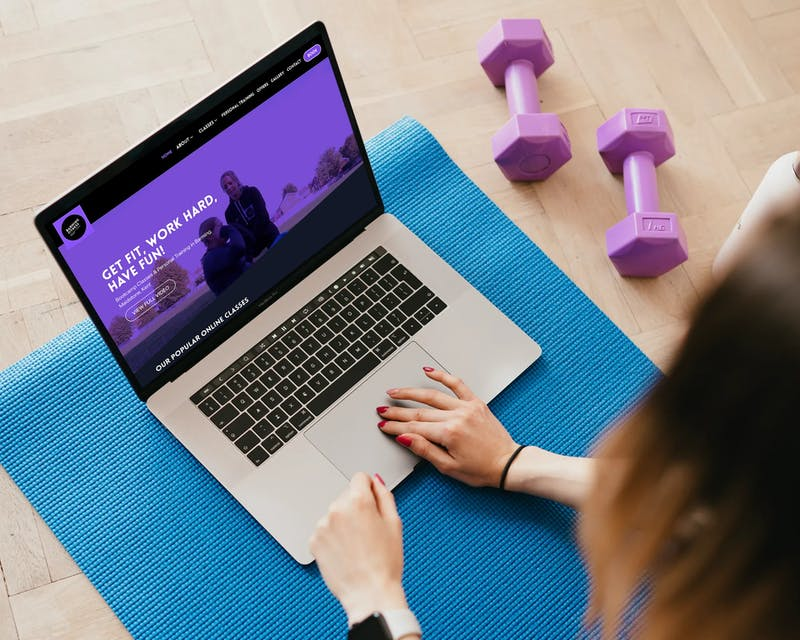 Barming Fitness on macbook