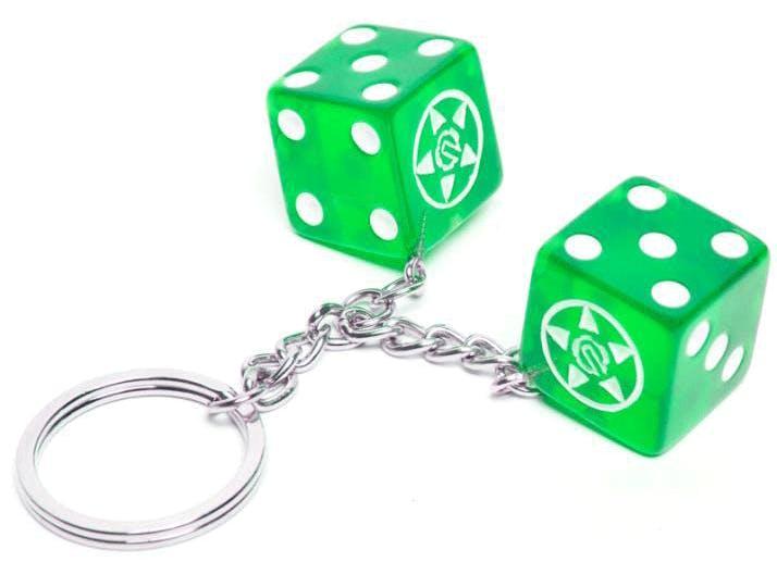 dice green