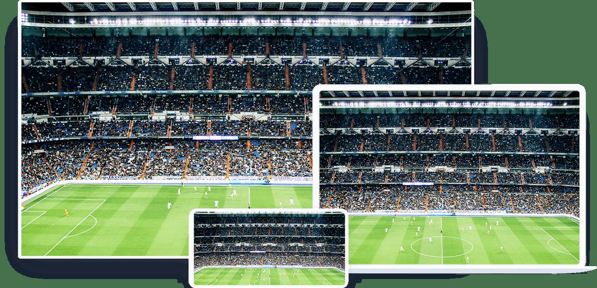 Football live stream player OTT app