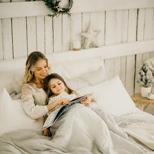 Spending a even a few minutes each day reading with your child can have a profound impact on a young mind.