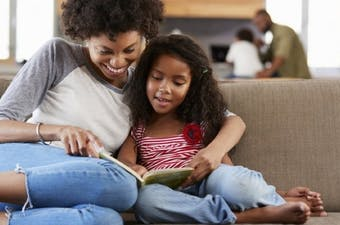 Books are a great way for parents and children to bond